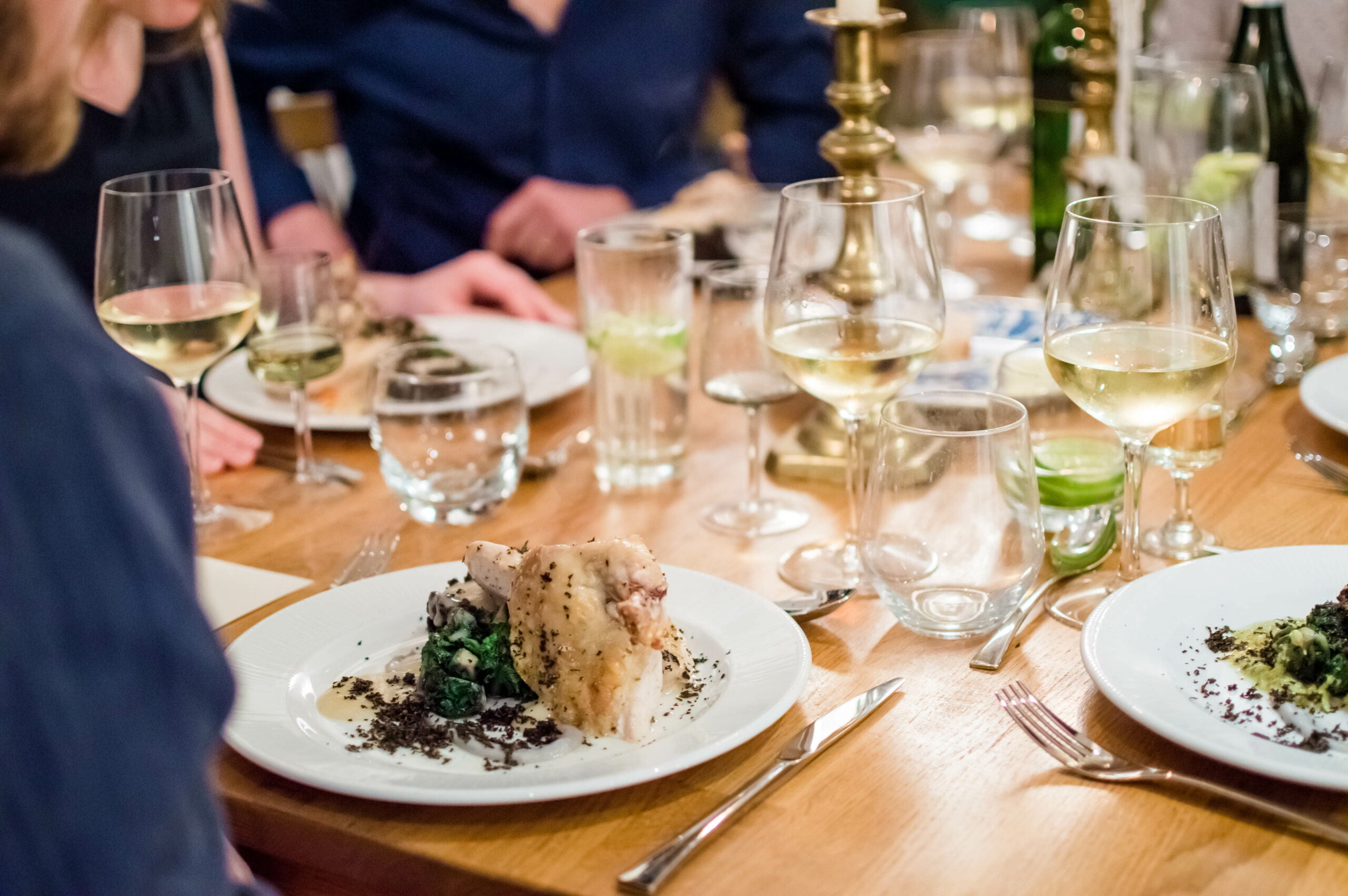 dining 3 scaled - Hiring a caterer for your private party