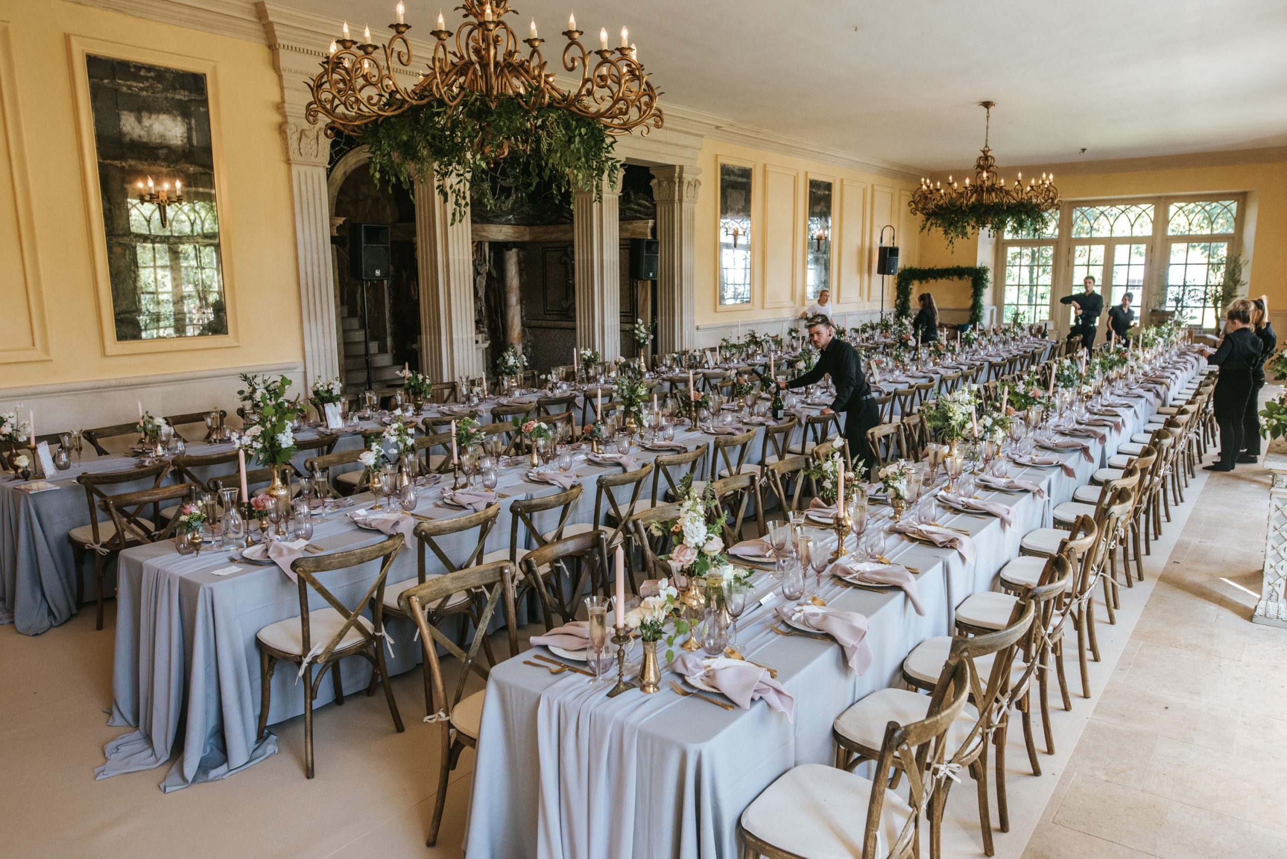 RobIsabelWedding CREDIT Blue Lily Weddings 555 scaled - Can Corporate Catering Be More Than A Buffet?