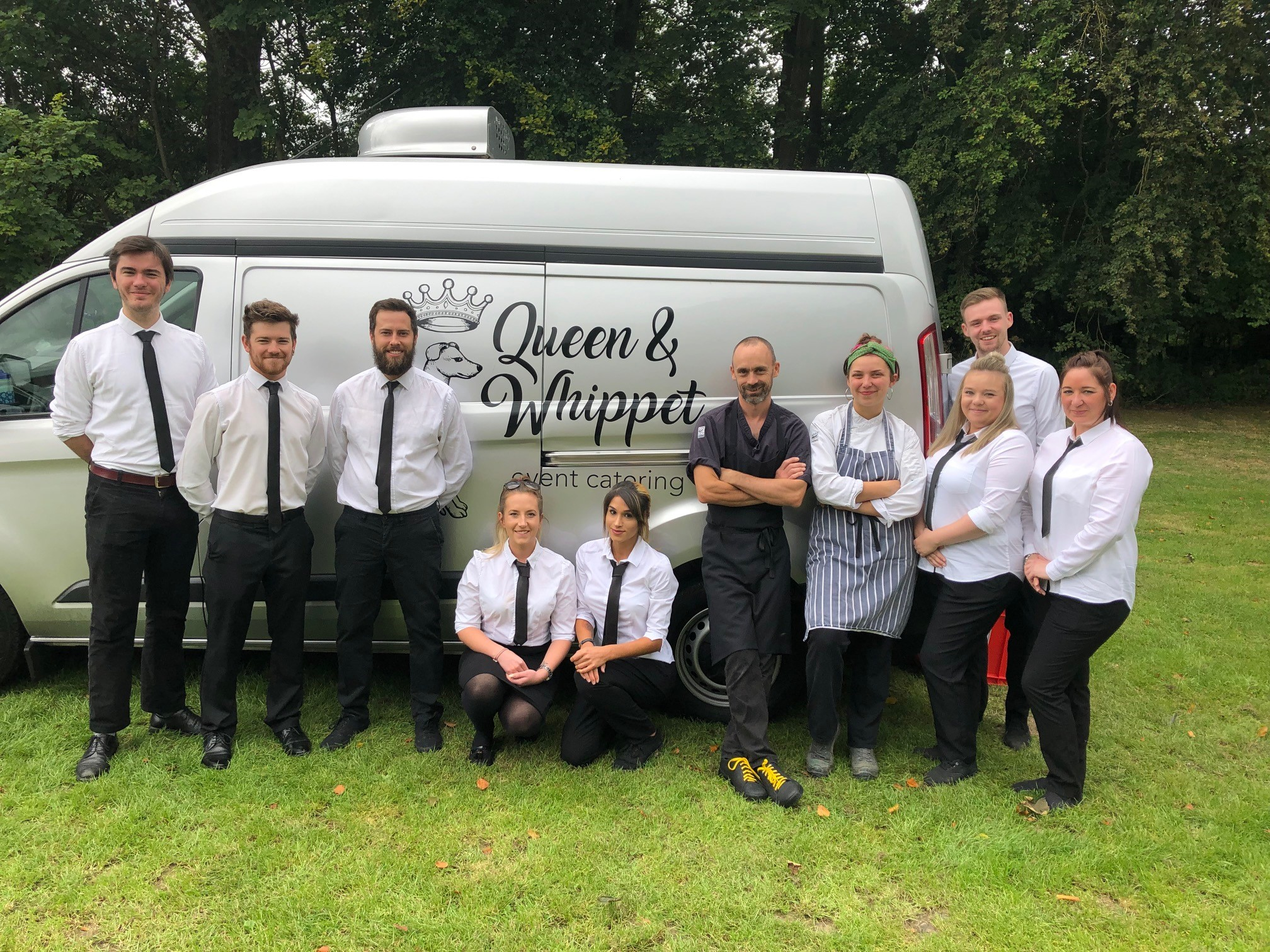 Queen and Whippet Bristol Catering team