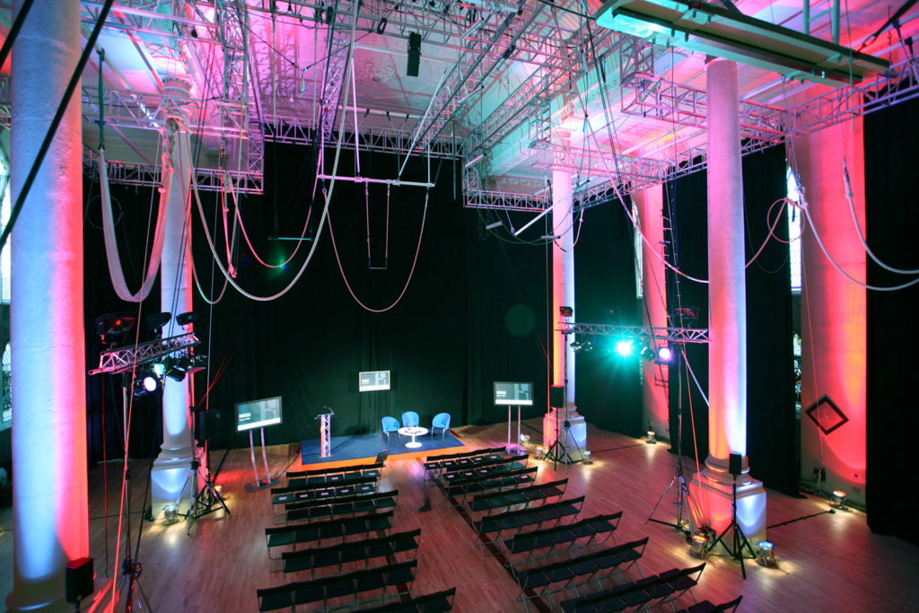 pink lighting Phillip Durrant edit1 1024x683 - Can we help you find your perfect venue?