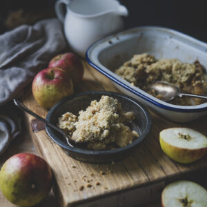 Evoke Pictures Lifestyle Home Feasting Apple Pear Crumble 1 300x300 - Chicken Stew with Cider Apple Dumplings: DELIVERY FRIDAY 22nd JANUARY