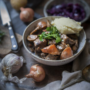 Evoke Pictures Lifestyle Home Feasting Beef Bourguignon 13 300x300 - Chicken Stew with Cider Apple Dumplings: DELIVERY FRIDAY 4TH DECEMBER