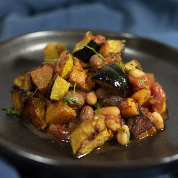 PCP1699 - Roasted winter squash cassoulet (vegan): DELIVERY FRIDAY 22nd JANUARY