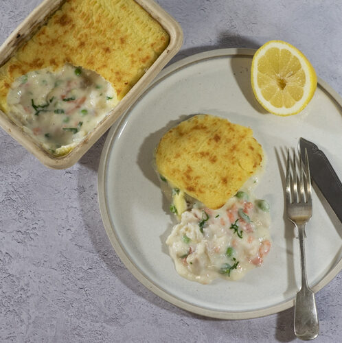 PCP7678 e1613999778126 - Luxury cod and smoked salmon fish pie: DELIVERY FRIDAY 12th MARCH